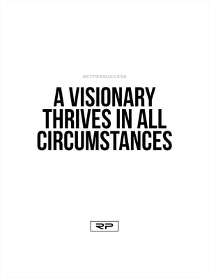 Visionary Thrives - 18x24 Poster