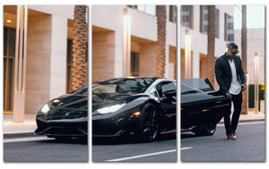 3 Piece RP Silence of the Lambo canvas set