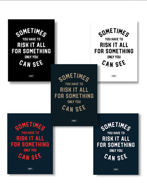 Risk It All - Poster Bundle