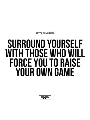 Surround Yourself  - 18x24 Poster