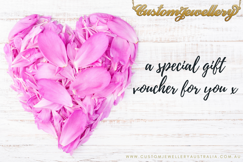 Custom Jewellery Gift Voucher