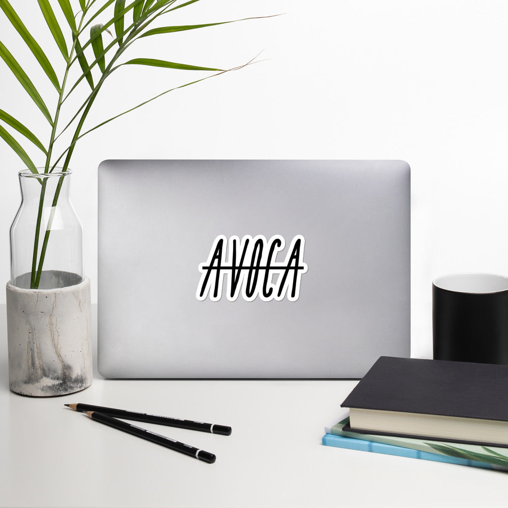 Avoca V2 Sticker