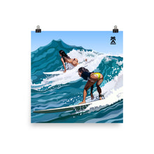 Load image into Gallery viewer, Surfer Girls Poster