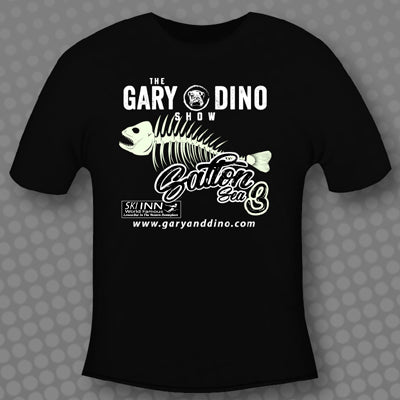 The Gary and Dino Show SALTON SEA 3 - GLOW IN THE DARK T-Shirt