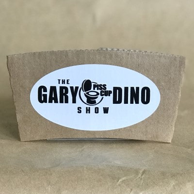 The Gary and Dino Show PISS CUP (3 Pack)
