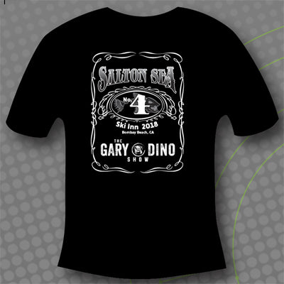 The Gary and Dino Show SALTON SEA 4 T-Shirt