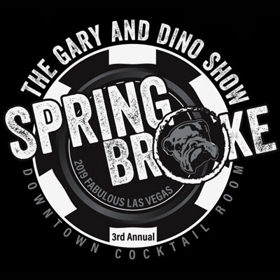 The Gary and Dino Show SPRING BROKE 2019 T-Shirt.