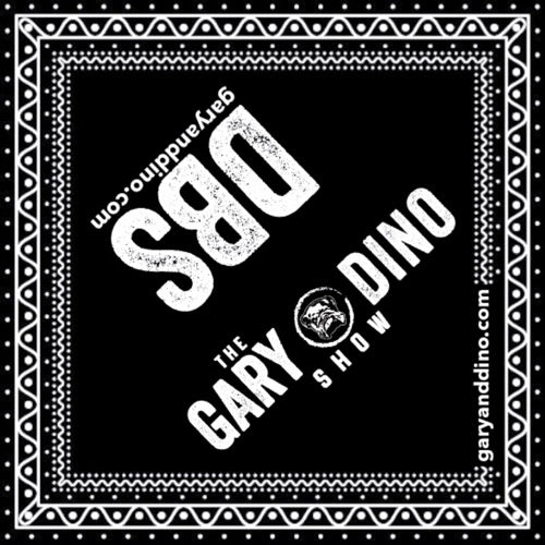 The Gary and Dino Show DBS BANDANNA