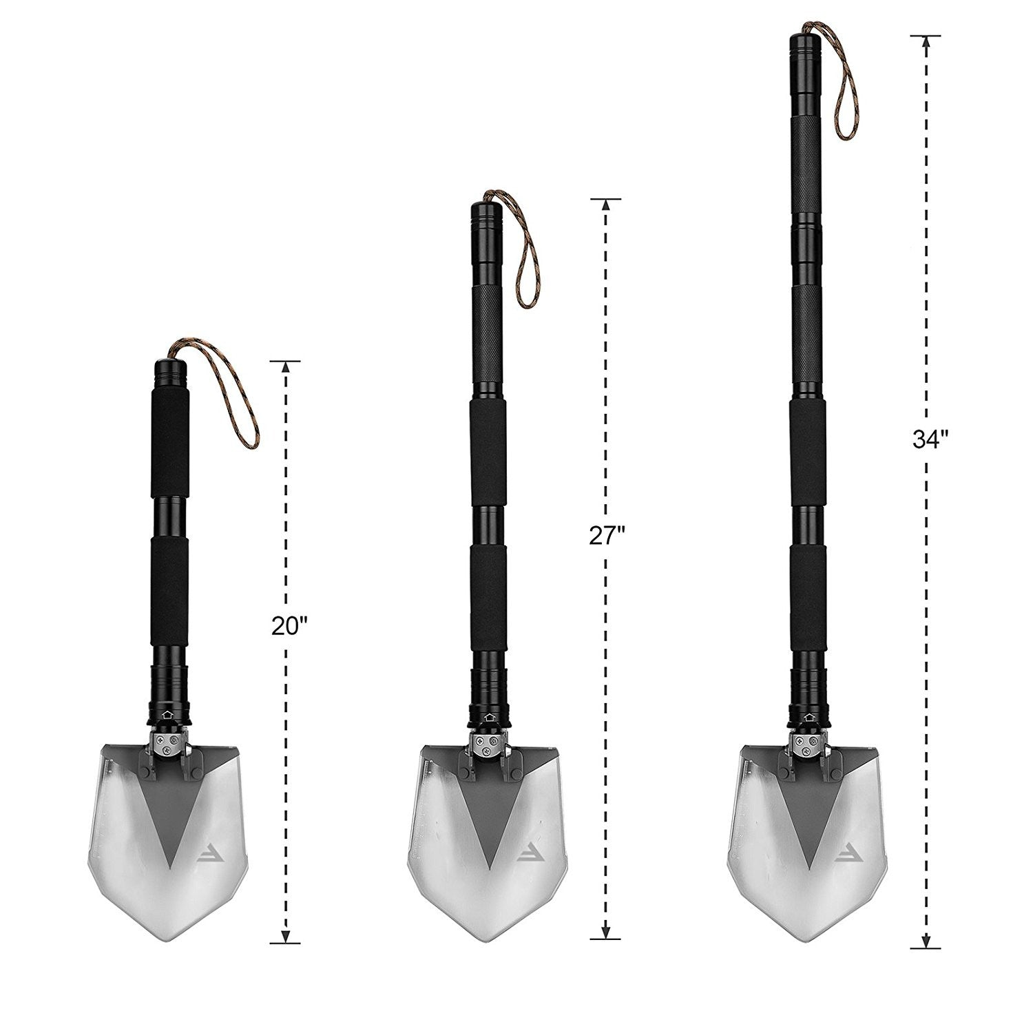 FiveJoy Miltary Folding Shovel RS Extension Tube (2PCS/Set)