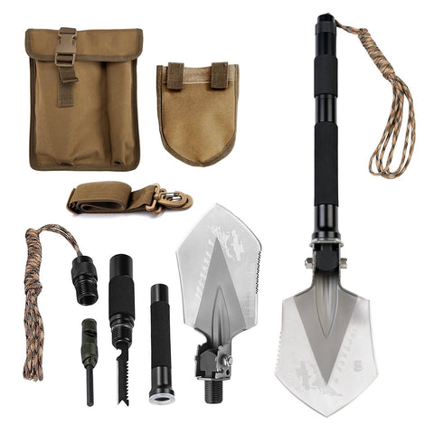 FiveJoy Compact Military Folding Shovel- C1