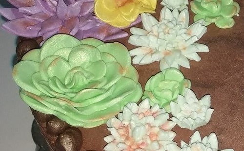Cake Decorating - Garden Sugar Art