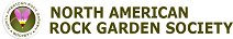 Logo for the North America Rock Garden Society