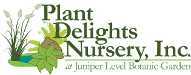 Plant Delights Nursery, Inc., at Juniper Level Botanic Garden logo