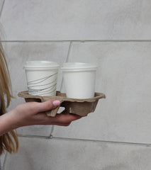 Two Cup Carry Tray