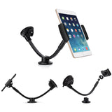 AboveTEK Long Arm Car Phone Mount Holder - Windshield Suction and Dashboard Support iPhone/iPad Mini Holder - CH200A