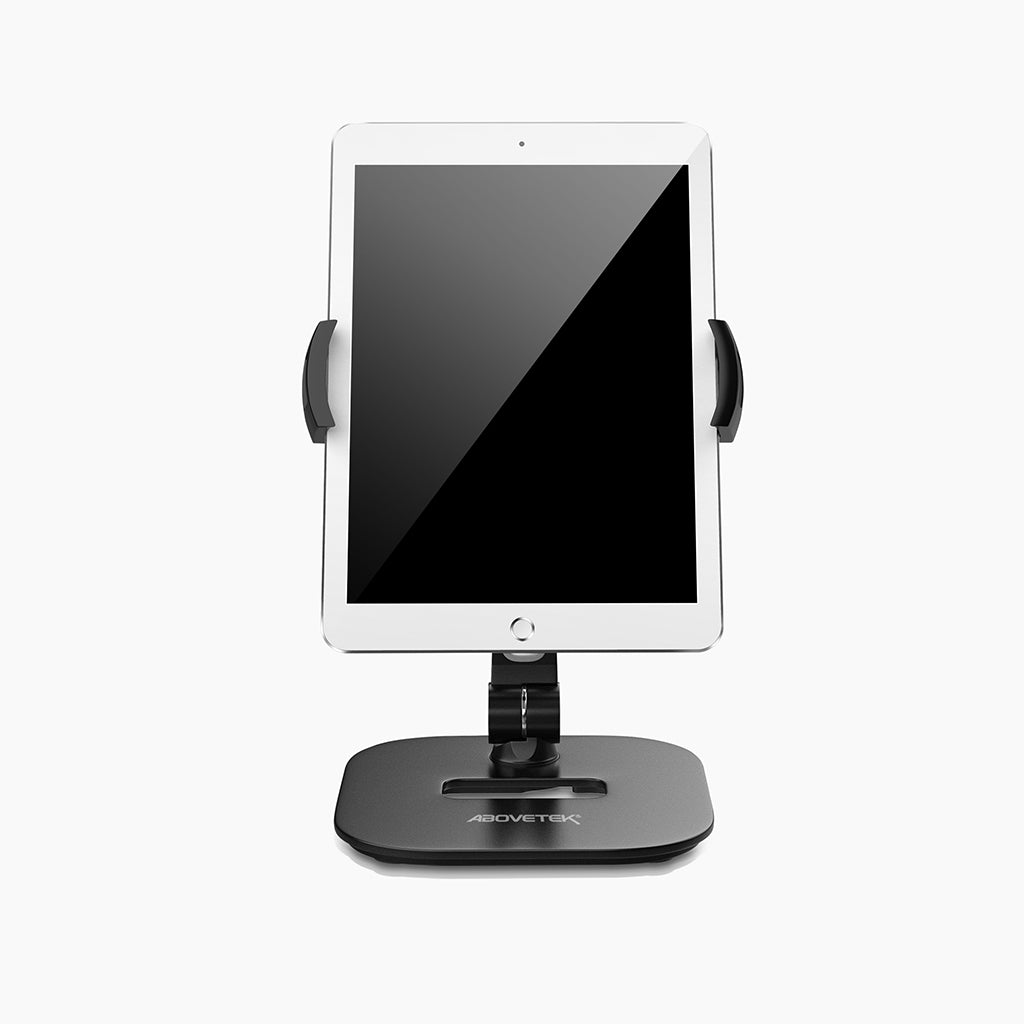 Tablet & Phone Desk Stand 360° Swivel Series Silver Black