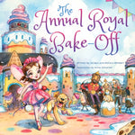 Cover of the children's book, The Annual Royal Bake-Off.