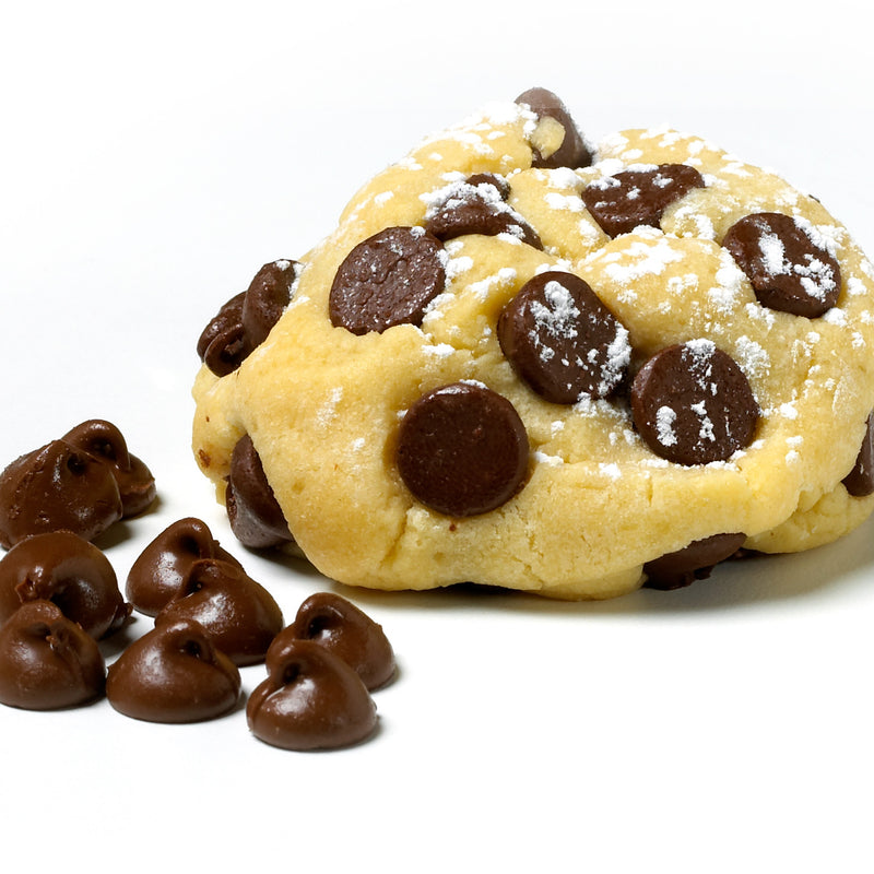 Our signature chocolate chip cookie, made with Hershey's chocolate chips, and a vanilla based dough.