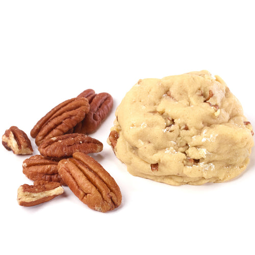 Pure vanilla, loaded with pecans!