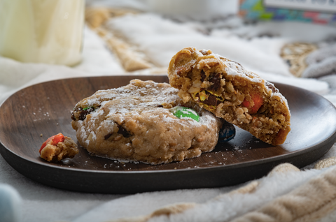 Lactation Cookies | 'Cookies-N-Milk'