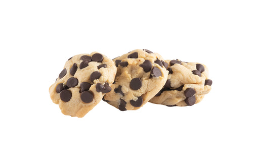 Our Signature Chocolate Chip cookie made sugar-free! Wahoo!