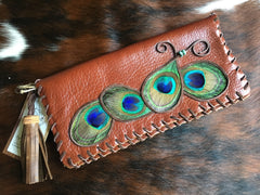 Chestnut clutch - SOLD