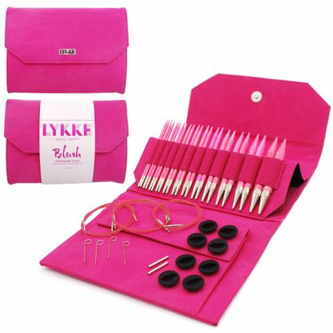 "Lykke 5"" Interchangeable Knitting Needle Set - Blush"