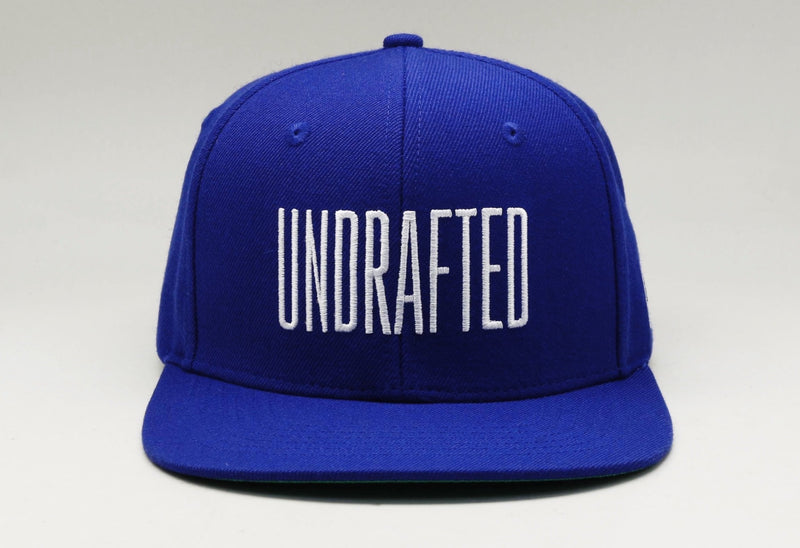 Undrafted Snapback - Royal/White