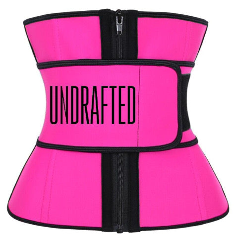 Undrafted Waist Trainer - Pink/Black