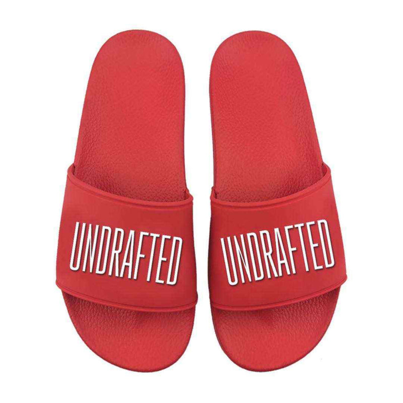 Undrafted Slides - Red