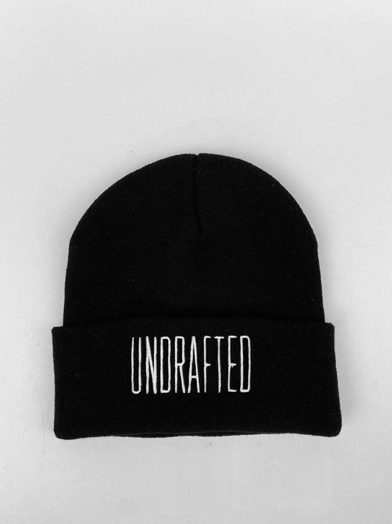 Undrafted Beanie - Black/White