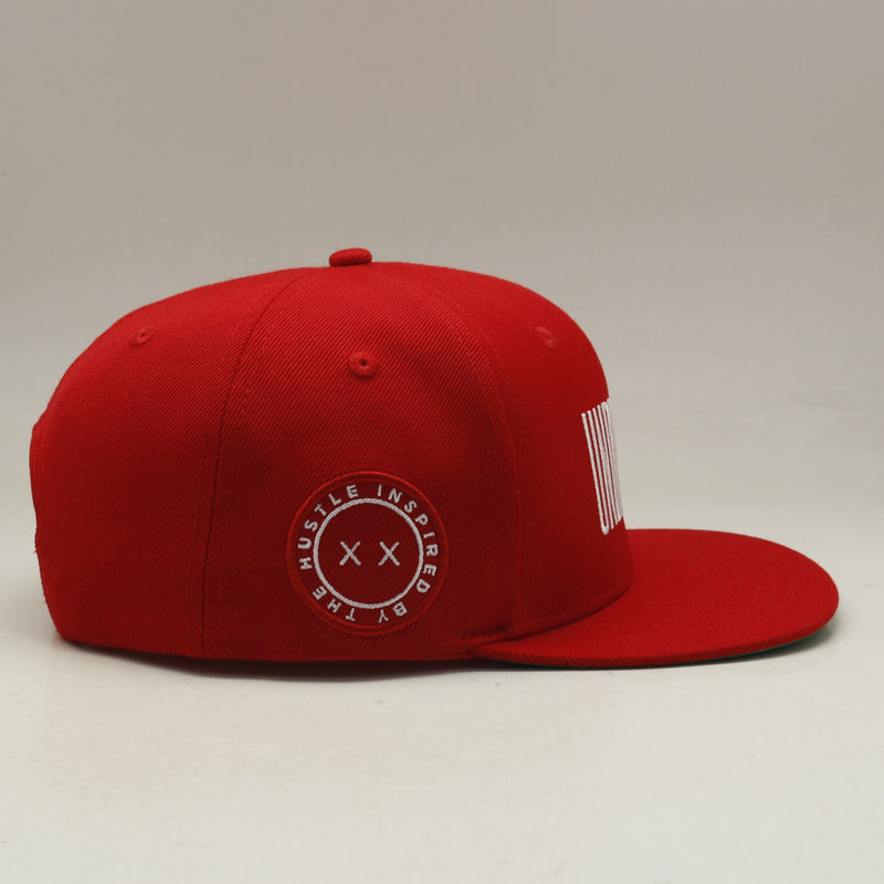 Undrafted Snapback - Red/White