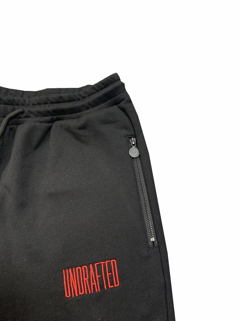 Undrafted Tracksuit - Black/Red