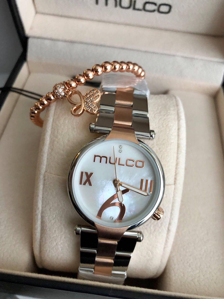 Mulco Stainless Steel + Pulsera - techno305