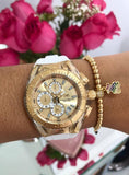 Set Technomarine  Gold and Gold Para pareja + pulsera Gratis - techno305