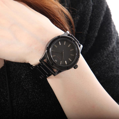 Nixon Women's  40mm All Black Watch - techno305