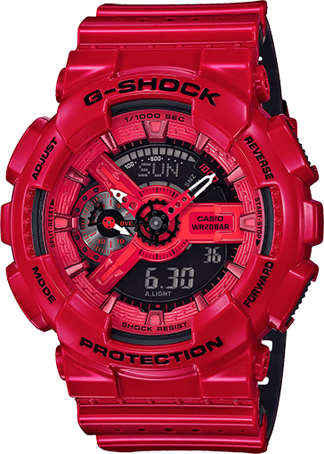 G-shock FULL ROJO MEN - techno305