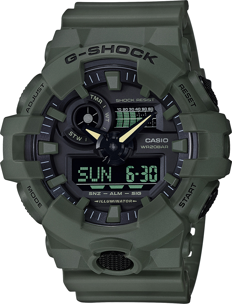 G-shock Analog-Digital GA700UC-3A - techno305