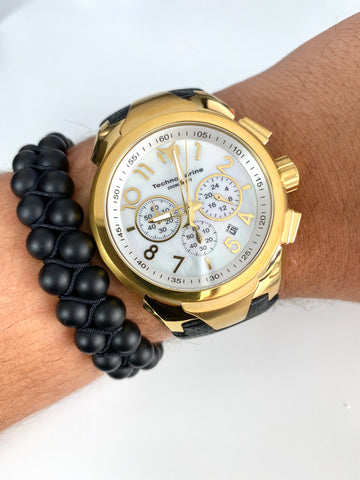 Technomarine Sea Dream Gold 48mm + Pulsera - techno305
