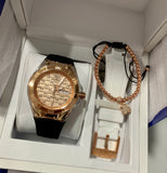 Technomarine Monogram Gold 40mm Watch Rose Gold - techno305
