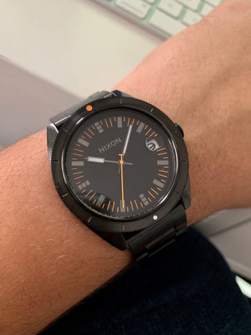 Nixon Black Mens Watch - techno305