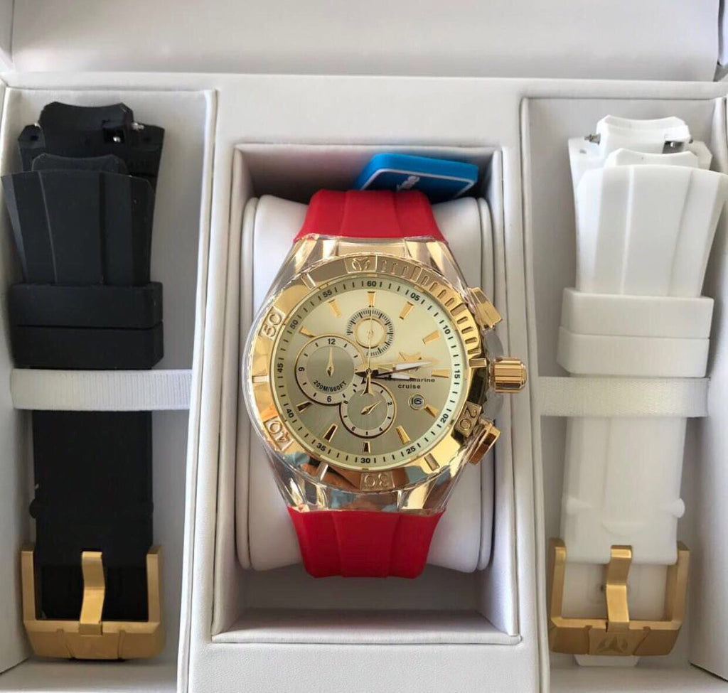 Technomarine gold and gold 45mm - techno305
