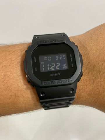 G-Shock Digital Black Full black UNISEX - techno305