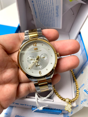 Technomarine MoonSun Unisex 42mm Two-Tone with + Pulsera Gratis
