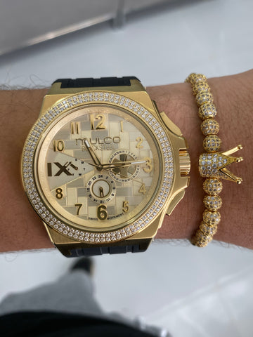 ( EDICIÓN LIMITADA ) MULCO GOLD AND GOLD Diamond Edition + Pulsera - techno305