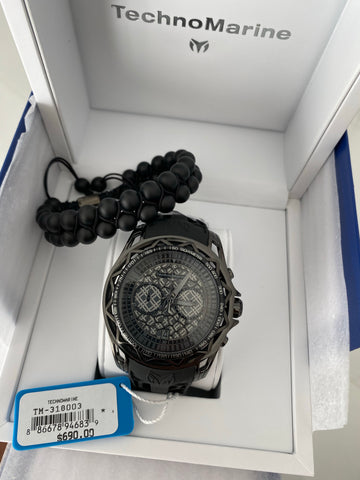 Technomarine NEW 2019 47mm Black + pulseta gratis