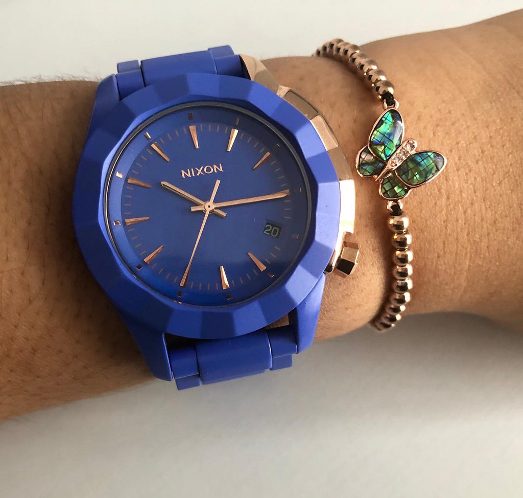Nixon Blue Rose Gold - techno305