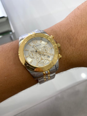 NEW TECHNOMARINE DOBLE TONO 2020 + Pulsera Gratis - techno305
