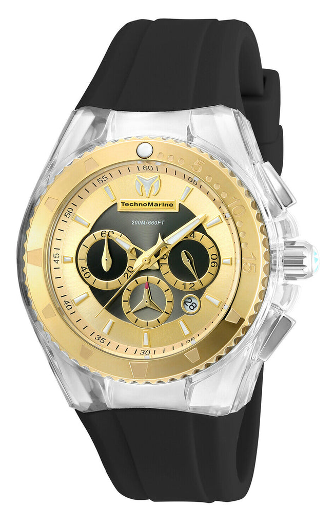 Technomarine  Cruise Pearl Two Tone Chronograph 40mm - techno305