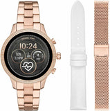Michael Kors Women Rose Gold  3 strap Smartwatch + Pulsera Gratis